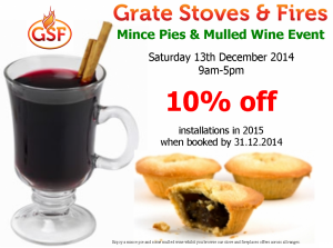 Mince Pie and Mulled Wine Event